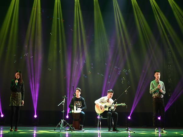 院第二届英文歌唱比赛
