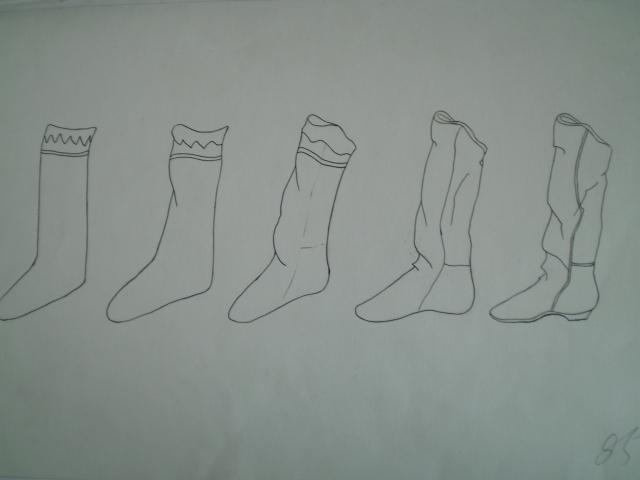 素描图形图片步骤